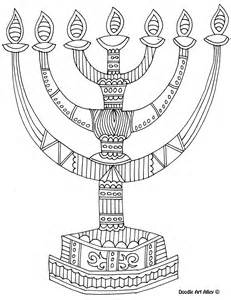 menorah coloring page 8 of the best most artful hanukkah coloring pages