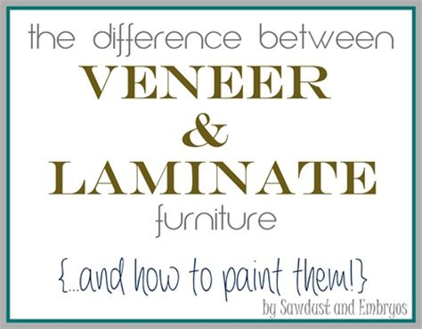 Paint Veneer Kitchen Cabinets by The Difference Between Laminate And Wood Veneer Furniture