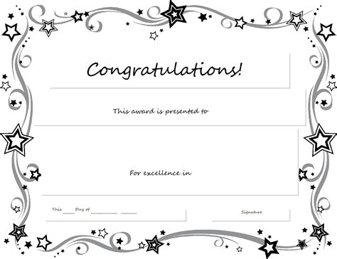congratulations certificate template word website resume