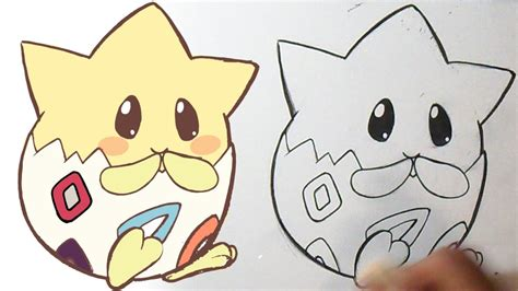 c 243 mo dibujar pok 233 mon togepi kawaii youtube
