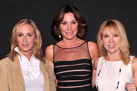 luann de lesseps talks filming rhony reunion all things real housewives of new york cast not taping show until