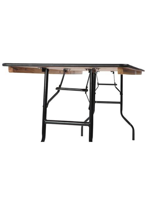 Table Banquet Pliante by Grande Table Rectangulaire Bois Pliante Pieds Acier 200