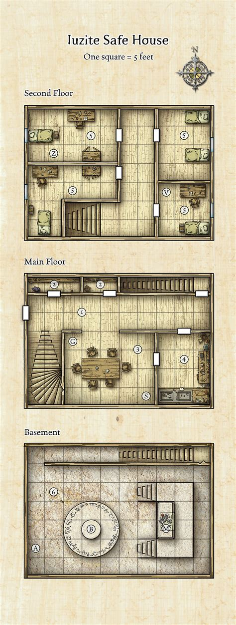 Floor Plan Sample by Schley Stack Dungeons Amp Dragons
