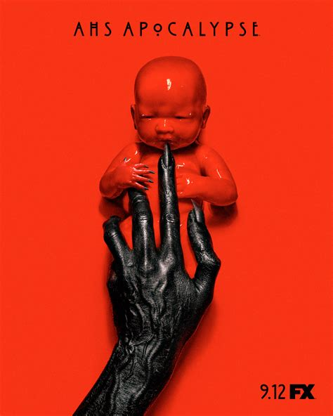 best american horror story season american horror story apocalypse poster confirms title