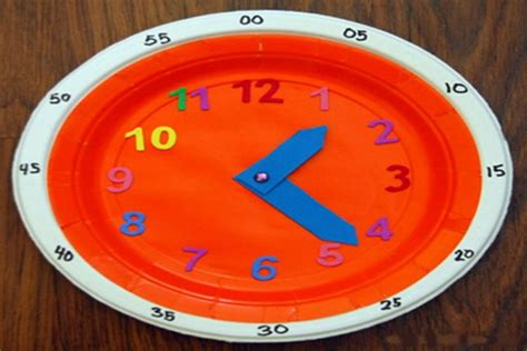How To Make A Clock With Paper Plate - pin by wmht media on crafts for
