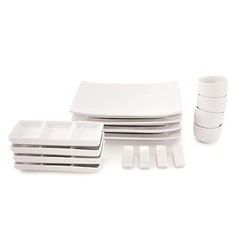 sushi making kit bed bath and beyond maxwell williams white basics 16 piece sushi set bed