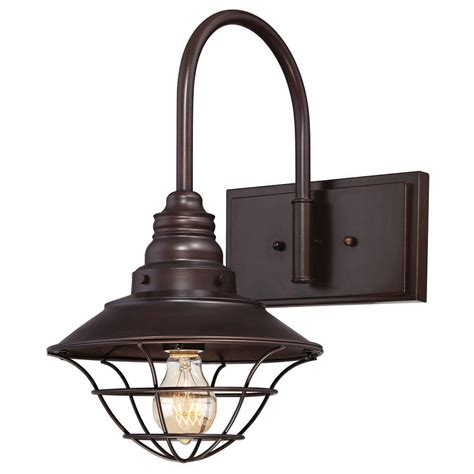 Inside Wall Light Fixtures Westinghouse 1 Light Interior Rubbed Bronze Wall Fixture With Metal Lantern Shade 6102800