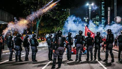 amargosa notcias policial em 2017 usar balas de borracha em protestos depender 225 do bom
