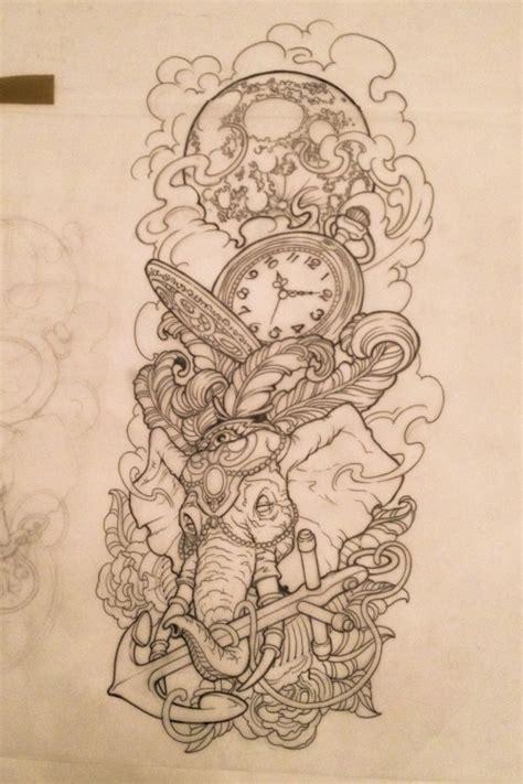 elephant tattoo flash elephant tattoo on tumblr