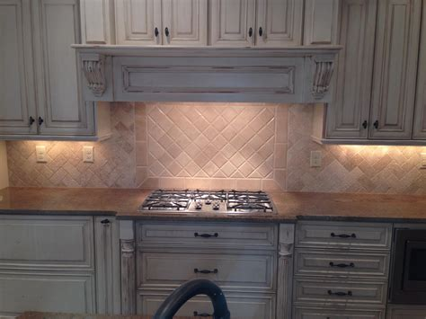 Tumbled Marble Kitchen Backsplash Backsplash Tumbled Marble Travertine Herringbone Tile Projects Pinterest Travertine