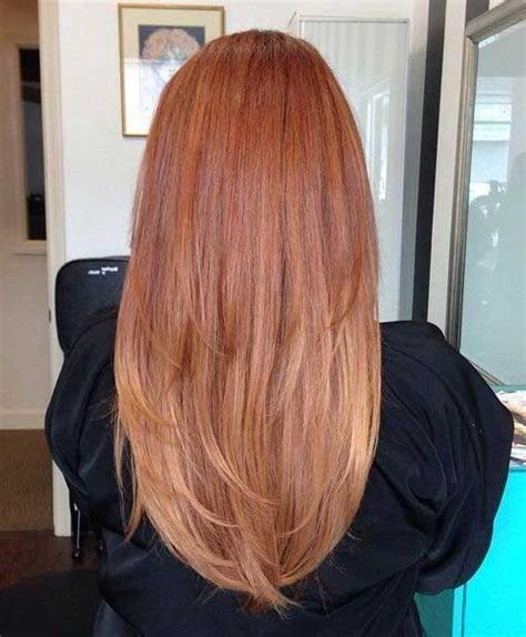 15 Strawberry Hair Hairstyles Haircuts 2016 2017 15 Inspirations Of Hairstyles Back View