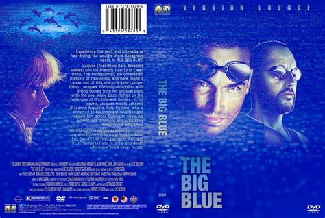 The Big Blue by The Big Blue Dvd Custom Covers 964contest Entry