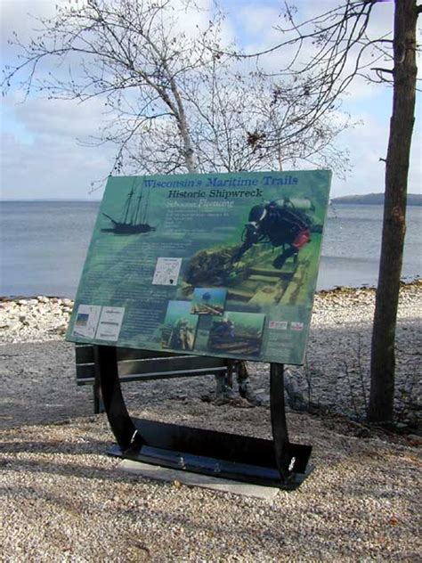 boat crash green bay wi fleetwing maritime trails marker wi shipwrecks
