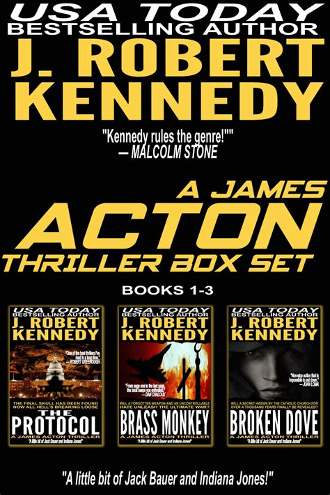 selected a thriller books the acton thrillers series books 1 3 j robert