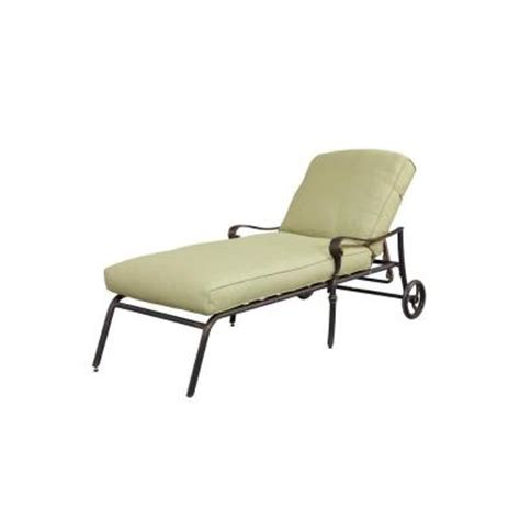 home depot chaise lounge hton bay edington patio chaise lounge with celery
