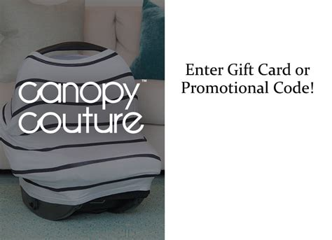 Carseat Canopy Gift Card - canopy couture carseat covers carseat umbrellas carseat blankets carseat slip covers
