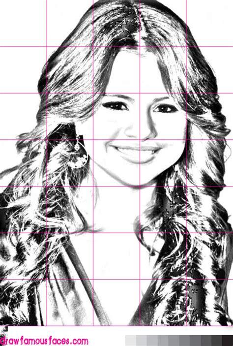 Selena Gomez How To Draw