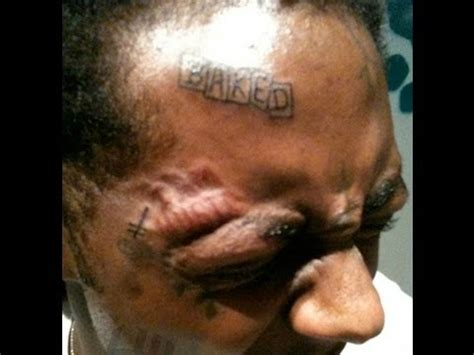 lil wayne face tattoos removed lil wayne talks baked