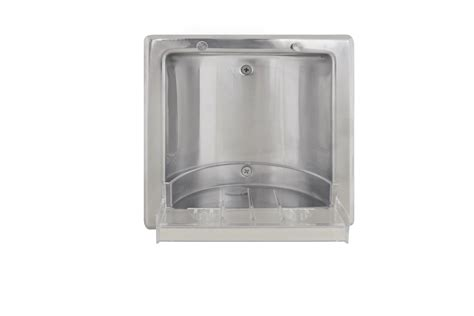 Stainless Steel Soap Dish recessed stainless steel soap dish bradley corporation