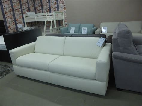 Italian Leather Sofa Bed Natuzzi Editions Rossana Italian Leather Sofa Bed White Furnimax Brands Outlet