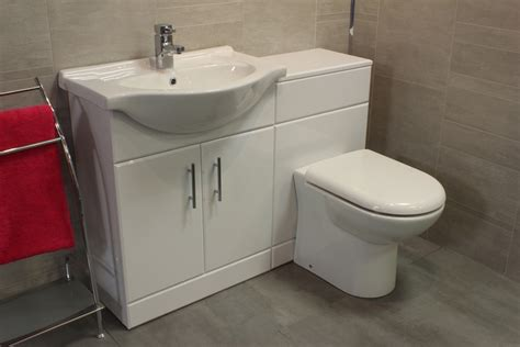 Toilet And Sink Vanity Units by Luxury 650 Bathroom Vanity Unit Btw Back To Wall Wc