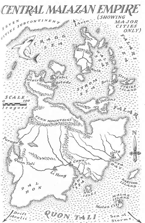 deadhouse landing path to ascendancy book 2 a novel of the malazan empire books image map malazan empire jpg malazan wiki fandom