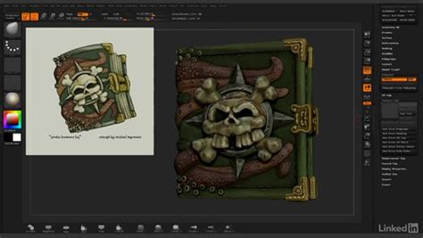 zbrush tutorial lynda completing uv layout and importing back to zbrush