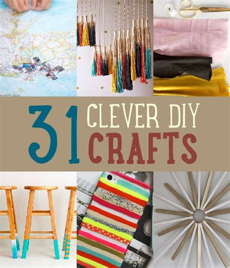 easy diy projects 31 easy clever diy crafts and project ideas save on crafts