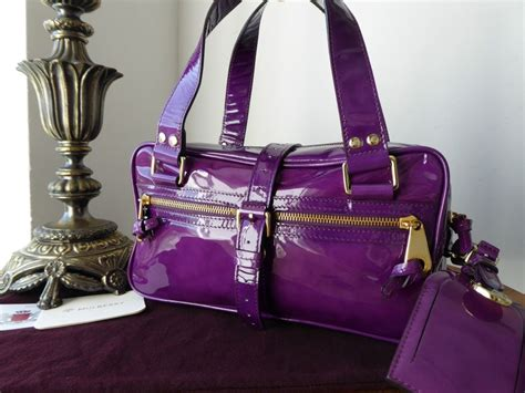 Gusttos Quilted Patent Leather Embellished Darlia Handbag by The Nests New Arrivals