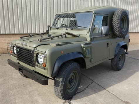 land rover defender 90 price guide stock number l jackson and co 187 for ex army trucks