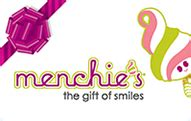 Menchies Gift Cards - your menchie s gift card