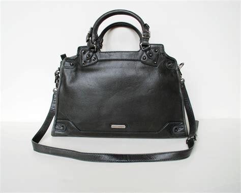 Biasias Desire Handbag In Black by Nwt Minkoff Desire Convertible Satchel Charcoal