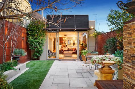 houzz backyard patio 72 the parade ascot vale victoria australia contemporary