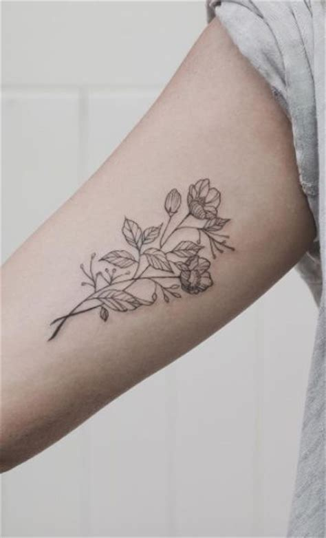 simple floral inner arm tattoo best tattoo design ideas 17 best images about ink inspiration on pinterest