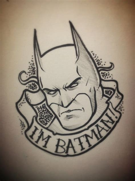 batman tattoo flash by taylorweaved on deviantart