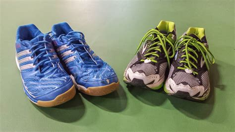 running shoes vs badminton shoes badminton central