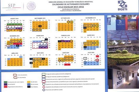 Calendario Sep 2015 Y 2016 Calendario Dgeti 2015 2016 Photo Metodolog 237 A De Las