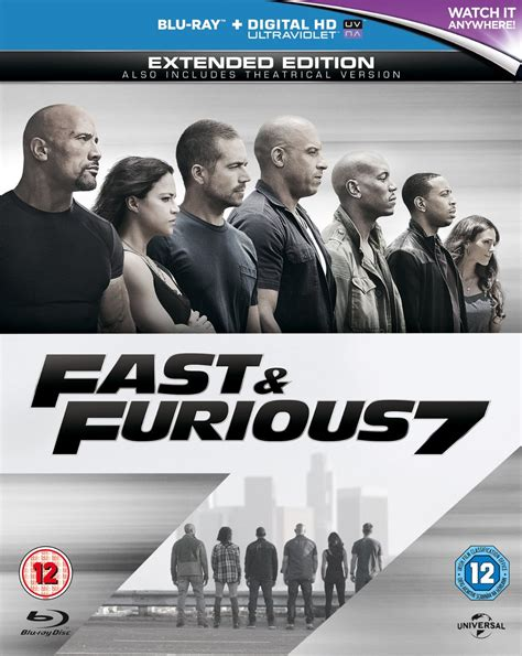 fast and furious uk release date new blu ray dvd releases september 2015