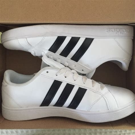 50 adidas shoes adidas neo baseline size 8 from casey s closet on poshmark