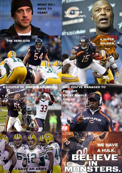 Chicago Bears Memes - a chicago bears quot avengers quot parody meme in response to