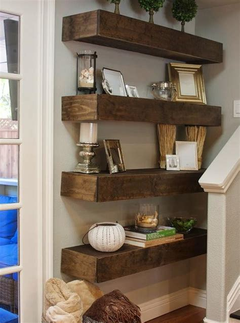 mensole da parete mensola da parete scatolata in legno massello noce xlab