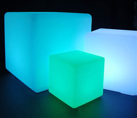 battery operated 12x12 led light cube