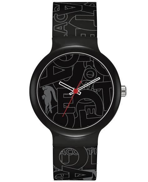Black Gray Bouverie 40 Mm Watches lyst lacoste unisex goa black and gray silicone