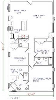 Bed 2 Bath 40 X60 Barndominium Floor Plans » Home Design 2017