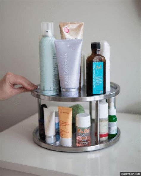 Rotating Spice Organizer 3 Arrange Your Everyday Products On A Revolving