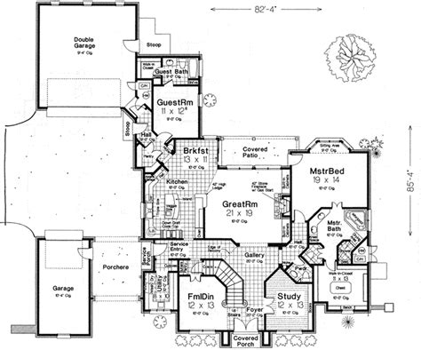 porte cochere plans house plans porte cochere