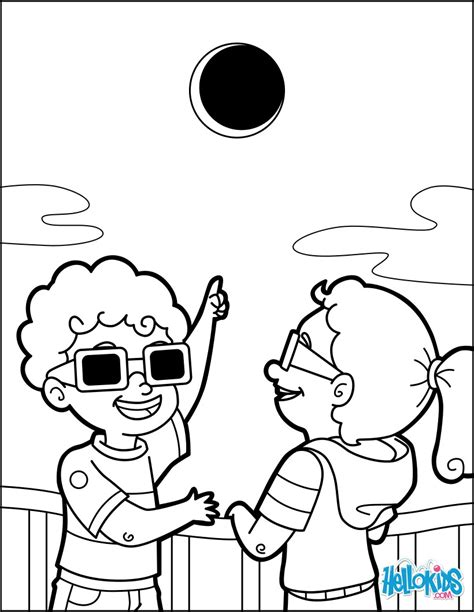 Coloring Pages Of Eclipse eclipse coloring pages hellokids