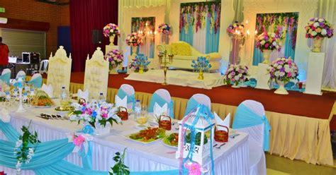 Meja Makan Pengantin butik pengantin feeza koleksi hiasan meja makan