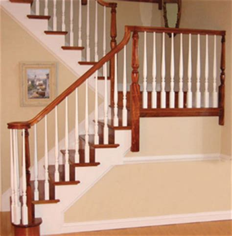 wooden stair banister incredible painted stair railing creates cool protecion