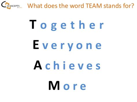 team building workshop by concepts consulting llc